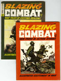 Magazines:Miscellaneous, Blazing Combat #2 and 3 Group (Warren, 1965-66) Condition: AverageFN/VF.... (Total: 2 Comic Books)