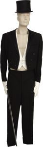 Movie/TV Memorabilia:Costumes, Buddy Ebsen's Broadway Tuxedo and Dancing Cane from FlyingColors and Broadway Melody of 1938. Lightning... (Total:1 Item)