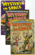 Golden Age (1938-1955):Science Fiction, Mystery in Space #9, 19, and 40 Group (DC, 1952-57).... (Total: 3Comic Books)