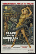 "Movie Posters:Adventure, Slave of the Cannibal God (New Line, 1979). One Sheet (27"" X 41"").Adventure...."
