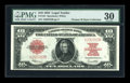Large Size:Legal Tender Notes, Fr. 123 $10 1923 Legal Tender PMG Very Fine 30....