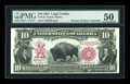 Large Size:Legal Tender Notes, Fr. 119 $10 1901 Legal Tender PMG About Uncirculated 50....