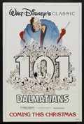"Movie Posters:Animated, 101 Dalmatians (Buena Vista, R-1985). One Sheet (27"" X 41""). Animated...."