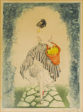 Prints, LOUIS ICART (French, 1888-1950). Basket of Apples, 1924 . Color etching. 16-3/4 x 12-1/4 inches (42.5 x 31.1 cm). Signed...