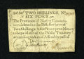 Colonial Notes:North Carolina, North Carolina December, 1771 2s/6d Very Fine....