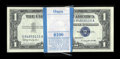 Small Size:Silver Certificates, Fr. 1621 $1 1957B Silver Certificates. Original Pack of 100. Choice Crisp Uncirculated.. ... (Total: 100 notes)