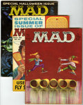 Magazines:Mad, Mad Group (EC, 1960-62) Condition: Average VG/FN unless otherwise noted.... (Total: 9 Comic Books)