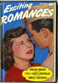 Golden Age (1938-1955):Romance, Exciting Romances #7 and 8 Bound Volume (Fawcett Publications, 1952) ....