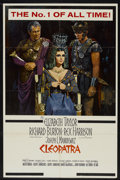 "Movie Posters:Historical Drama, Cleopatra (20th Century Fox, 1963). One Sheet (27"" X 41"").Historical Drama...."