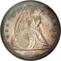 Seated Dollars, 1840 $1 MS62 NGC....