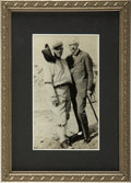 Autographs:Photos, Judge Kenesaw Mountain Landis Signed Photograph. Appointed ascommissioner of baseball after the fallout following the infa...