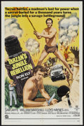 "Movie Posters:Adventure, Tarzan's Jungle Rebellion (National General, R-1970). One Sheet(27"" X 41""). Adventure...."