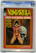 Magazines:Horror, Vampirella 1972 Annual (Warren, 1972) CGC FN/VF 7.0 Off-white to white pages....