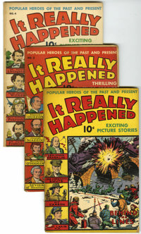 It Really Happened Group Plus (Wise/Standard, 1941-44) Condition: Average GD/VG.... (Total: 7 Comic Books)