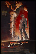 "Movie Posters:Adventure, Indiana Jones and the Temple of Doom (Paramount, 1984). One Sheet (27"" X 41""). Adventure...."