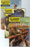 Golden Age (1938-1955):Classics Illustrated, Classics Illustrated Group (Gilberton, 1951-56) Condition: AverageVG/FN.... (Total: 9 Comic Books)