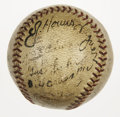 Autographs:Baseballs, 1934-35 Pittsburgh Pirates Team Signed Baseball with Honus Wagner.Thirteen members of the mid-1930s Pittsburgh Pirates hav...