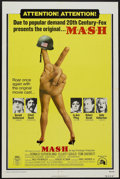"Movie Posters:Comedy, MASH (20th Century Fox, R-1973). One Sheet (27"" X 41""). Comedy...."