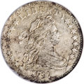 Early Dimes, 1797 10C 16 Stars--Damaged, Improperly Cleaned--NCS. XF Details....