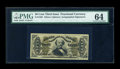 Fractional Currency:Third Issue, Fr. 1329 50c Third Issue Spinner PMG Choice Uncirculated 64....
