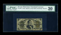 Fractional Currency:Third Issue, Fr. 1299 25c Third Issue PMG Very Fine 30....