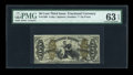 Fractional Currency:Third Issue, Fr. 1360 50c Third Issue Justice PMG Choice Uncirculated 63 EPQ....