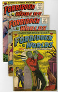 Golden Age (1938-1955):Horror, Forbidden Worlds Group Plus (ACG, 1951-64) Condition: AverageVG-.... (Total: 12 Comic Books)