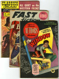 Golden Age (1938-1955):Classics Illustrated, Classics Illustrated Group (Gilberton, 1949-56) Condition: Average VG.... (Total: 10 Comic Books)