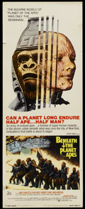 "Movie Posters:Science Fiction, Beneath the Planet of the Apes (20th Century Fox, 1970). Insert(14"" X 36""). Science Fiction...."