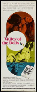 """Movie Posters:Cult Classic, Valley of the Dolls (20th Century Fox, 1967). Insert (14"""" X 36"""").Cult Classic...."""