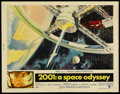 "Movie Posters:Science Fiction, 2001: A Space Odyssey (MGM, 1968). Half Sheet (22"" X 28""). ScienceFiction...."