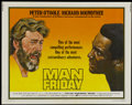 "Movie Posters:Adventure, Man Friday Lot (Avco Embassy, 1975). Half Sheets (2) (22"" X 28"").Adventure.... (Total: 2 Items)"