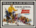 "Movie Posters:Adventure, King's Pirate Lot (Universal, 1967). Half Sheets (2) (22"" X 28"").Adventure.... (Total: 2 Items)"