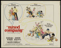 """Movie Posters:Comedy, Mixed Company (United Artists, 1974). Half Sheet (22"""" X 28"""") Style A. Comedy...."""