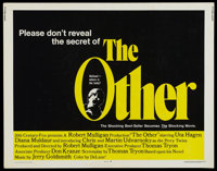 "The Other Lot (20th Century Fox, 1972). Half Sheets (3) (22"" X 28""). Horror.... (Total: 3 Items)"