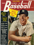 Autographs:Others, 1964 Mickey Mantle Signed Street & Smith's Yearbook. At thetime of the issue of the Street and Smith's yearbook we offer he...