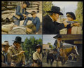 "Movie Posters:Western, True Grit (Paramount, 1969). Jumbo Lobby Cards (4) (16"" X 20""). Western.... (Total: 4 Items)"