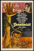 "Movie Posters:Adventure, Spartacus (Universal International, R-1968). International OneSheet (27"" X 41""). Adventure...."
