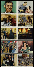 "Movie Posters:Academy Award Winner, Gone with the Wind (MGM, R-1968). Color Stills (10) (8"" X 10"").Academy Award Winner.... (Total: 10 Items)"