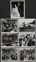 "Movie Posters:Adventure, Captain Blood (Warner Brothers, R-1960s). Stills (7) (8"" X 10"").Adventure.... (Total: 7 Items)"