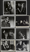 """Movie Posters:Hitchcock, Dial M For Murder (Warner Brothers, 1954 and R-1960s). Stills (8) (8"""" X 10""""). Hitchcock.... (Total: 8 Items)"""