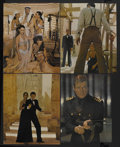 "Movie Posters:James Bond, The Spy Who Loved Me (United Artists, 1977). Jumbo Lobby Card Set of 12 (16"" X 20""). James Bond.... (Total: 12 Items)"