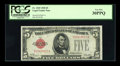 Small Size:Legal Tender Notes, Fr. 1525 $5 1928 Legal Tender Note. PCGS Very Fine 30PPQ.. ...