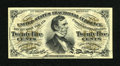 Fractional Currency:Third Issue, Fr. 1292 25c Third Issue Choice About New....