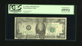 Error Notes:Ink Smears, Fr. 2075-E $20 1985 Federal Reserve Note. PCGS Extremely Fine45PPQ.. ...