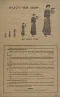 Political:Posters & Broadsides (1896-present), The Woman's Journal Propaganda Poster for Woman's Suffrage....