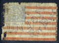 Political:Small Miscellaneous (pre-1896), Union Forever Flag: Rare Small Flag, Probably from Lincoln's 1864 Reelection Campaign....
