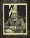 Autographs:U.S. Presidents, Harry S. Truman Photo Signed as President...