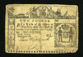 Colonial Notes:New York, New York February 16, 1771 L2 Very Fine....