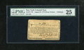 Colonial Notes:New York, New York August 25, 1774 (Water Works) 4s PMG Very Fine 25. Amoderately circulated example of this New York Water Works not...